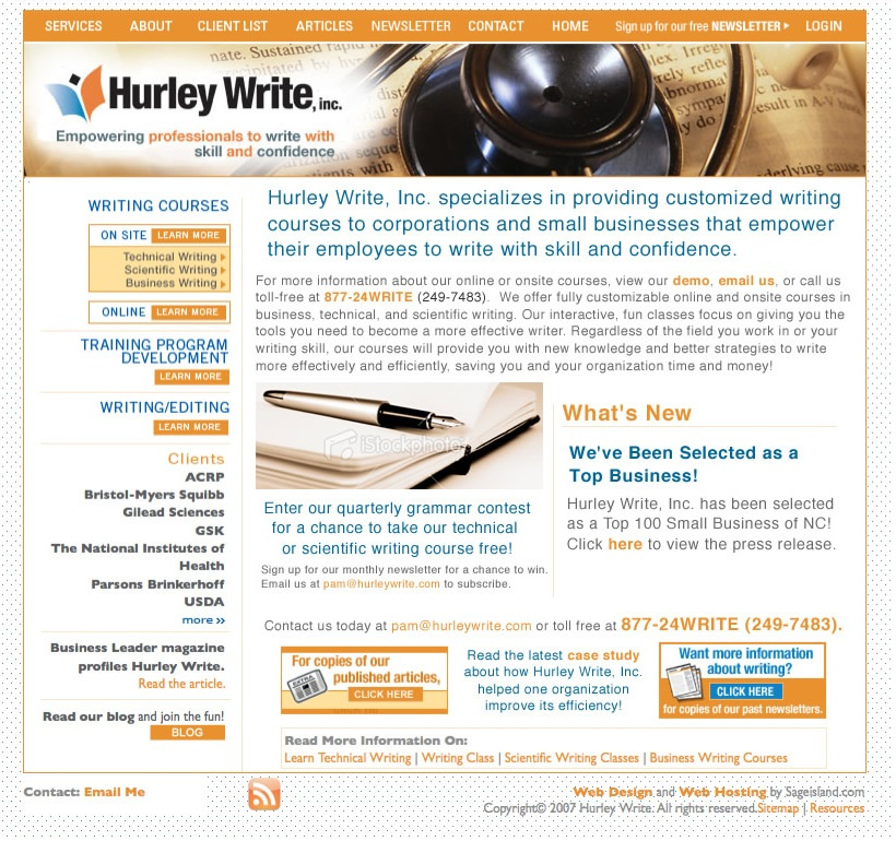 Hurley Write, Inc  - BlueTone Media Blog